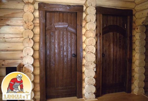 Двери для бани своими руками фото